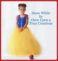 192cfd66cdd Posts similar to  Snow White Tutu Dress Halloween Costume by ...