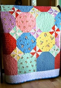 Quilt Baby Flannel Peachy Keen