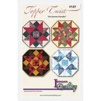 Topper Twist Table Topper Pattern by GabbysQuiltsNSupply on Etsy, $8.98