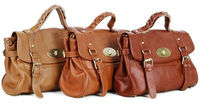 Gossip Girl Blair Cowhide Real Leather Genuine Leather Shoulder Bag Handbag Hobo