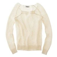 An airy sweater.