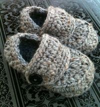 baby boy loafer booties