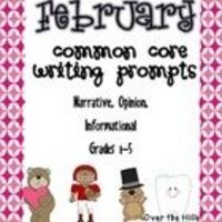 This unit is packed with writing prompts and task cards to take you right through the month of February. ALL types of writing are covered: narrati...