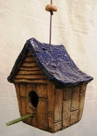 Rustic Cabin Birdhouse by Don Williams Creations
