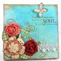 Scrapbooking Canvas Art