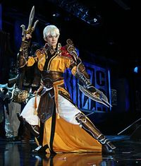 Diablo III Female Monk cosplay!!