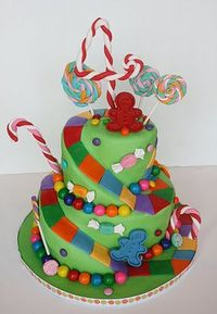 I want to make this cake!! Anyone having a Candy Land party!?