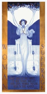 Women's Suffrage Poster #feminism