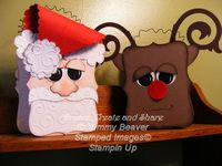 Santa Tutorial - LOVE these! Too Cute!