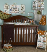Nautical themes turn nurseries into an imagination-stimulating high seas adventure for your little boy, but many moms and dads are tired of the traditional navy and white anchor designs that are common looks for the theme. If that sounds like you, say ...