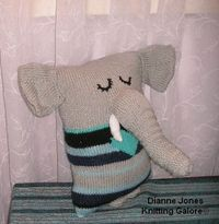Knitting Galore: animal pillow