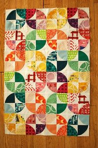 drunkards path-Must learn how to make this quilt!