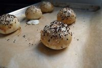 Bagel bombs - they're filled with bacon-scallion cream cheese ...