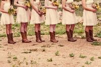 boots for bridesmaids