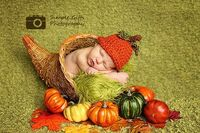 Welcome Fall Baby Photo Idea