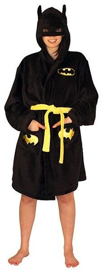 Batman Hooded Bathrobe