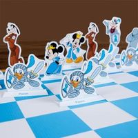 Mickey and Friends Printable Chess Set