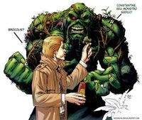 John Constantine & Swamp Thing By Roger Cruz