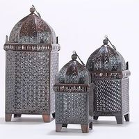 Copper Chennai Table Lantern Collection