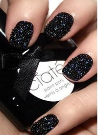 Caviar Nail Art - a little tricky to do, but beautiful