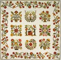 Aunt MInnie's Best Applique Quilt