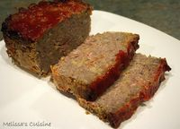 Melissa's Cuisine: Bacon Cheeseburger Meatloaf