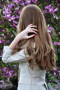 Someday my hair will be this long...