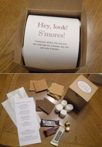 Image detail for -this is a little easier diy gourmet s mores package to put together it ...