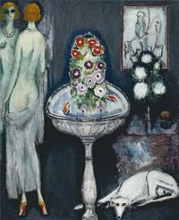 La Vasque Fleurie, Kees Van Dongen. Dutch (1877 - 1968)