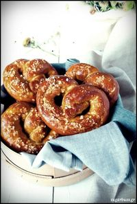 Sugar Buzz: Soft Pretzels! To change something salty!