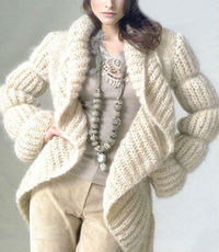 bd0e8ad20 Posts similar to  Hand Knit Coat Long Cardigan Jacket from Baby ...