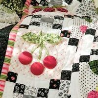 Black Cherry | Quilter's How-To Workshop | McCall's Quilting - get the directions here for this beautiful quilt. http://www.mccallsquilting.com/mccallsquilting/articles/Black Cherry How To Workshop
