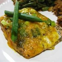 Cheesy Baked Salmon - Click image to find more popular food & drink Pinterest pins