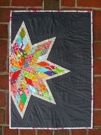 Partial star quilt