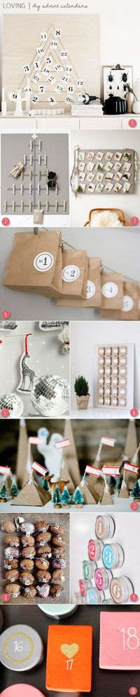 DIY advent calendars   The Sweetest Occasion