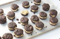 Peanut butter cup cookie dough brownie bites