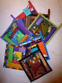 Art Quilt Potholder