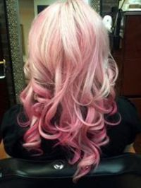 Pink Ombre Color