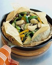 Mediterranean Vegetables en papillote