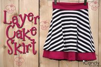 layer cake skirt