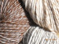 I've been working with yarn from this shop. WONDERFUL quality. Never knew alpaca worked up so beautifully// 100 Alpaca Lopi Yarn Grey/White by FinnishFarmYarn on Etsy, $25.00