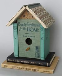 Upcycle Old Books Into a Birdhouse...