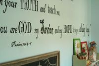 verse for homeschool wall