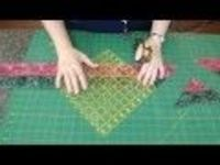 Tube quilting tutorial......so awesome! A free video from the Missouri Star Quilt Company for an easy, quick block with many possibilities.