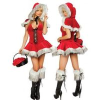 Sexy Lil Red Riding Hood Adult Women Christmas Costume