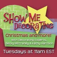 Learn Christmas decorating secrets from the experts every Tuesday! Listen in at http://rockstarradionetwork.com/shows/showmedecorating