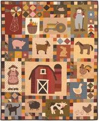 FARMER IN DELL QUILT PATTERN