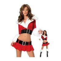 Sweet Santa Sexy Adult Women Christmas Costume (4 Pieces )