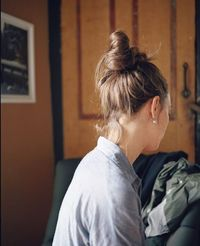 the perfect top knot