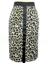 Leopard Luxe Pencil Skirt